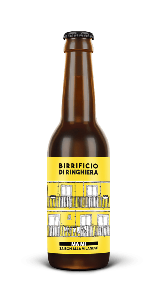 MA MI bottiglia di birra chiara Birrificio di RInghiera