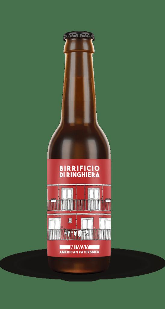 MI WAI bottiglia di birra chiara Birrificio di RInghiera